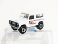 Matchbox 1987 County White LAND ROVER DEFENDER 90