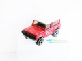 Matchbox 1987 County Red LAND ROVER DEFENDER 90