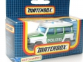 Matchbox 1987 SF Polizei MB30 MERCEDES BENZ G WAGON