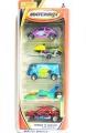 Matchbox 2000 Wings N Water 5-Pack Set, Incl. VW T1 & VW BEETLE