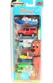 Matchbox 2003 The Big Red Dog 5 Pack Set LAND ROVER DEFENDER 90