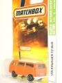 Matchbox 2007 Orange VOLKSWAGEN T2 BUS