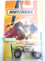 Matchbox 2008 Gold OFF-ROAD RIDER