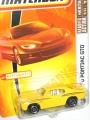 Matchbox 2008 RFA '70 PONTIAC GTO