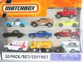Matchbox 2009 Exclusive 10-Pack 1968 TOYOTA LAND CRUISER FJ40