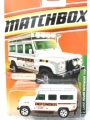 Matchbox 2010 LAND ROVER DEFENDER 110
