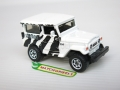 Matchbox 2010 White Zebra TOYOTA LAND CRUISER