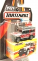 Matchbox 2016 Best of Series 1 Ambulance LAND ROVER DEFENDER 110