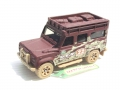 Matchbox D.E.R Desert Endurace Race LAND ROVER DEFENDER 110