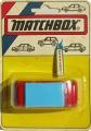Matchbox Hungary Pizza Van Red Blue VW VOLKSWAGEN CAMPER