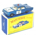 Matchbox Lesney No. 55 FORD FAIRLANE POLICE CAR