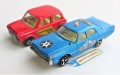 Matchbox Lesney 1970 MINI & Majorette 216 Police PLYMOUTH FURY