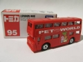 Tomica 2007 Pet World LONDON BUS